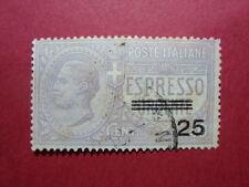 ITALIA REGNO 1917 FRANCOBOLLO ESPRESSO N. A3 USATO VAL. CAT. € 95,00