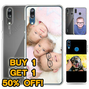 PERSONALISED PHONE CASE CUSTOM PHOTO HARD COVER FOR APPLE SAMSUNG HUAWEI