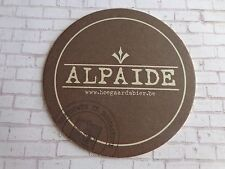 Beer Brewery Coaster ~*~ Nieuwhuys Brewery Alpaide Bier ~*~ Hoegaarden, Belgium