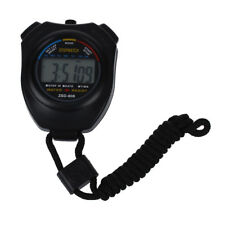 Hot Sale Practical Digital Chronograph Sports Stopwatch with Neck Strap FP