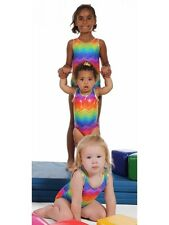 "New Gymnastic Snowflake Mermaid Leotard Age 4-5 (24"")"