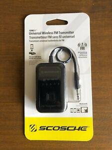 Scosche TuneIn Universal FM transmitter (FMT4-RP) - New/Sealed - Free P&P