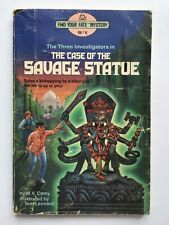 The Three Investigators - The Case of the Savage Statue Find Your Fate Mystery 8