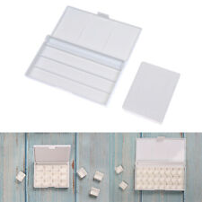 12/24Grid Watercolor Palette Empty Palette Painting Paint Tray for Acrylic PFCA