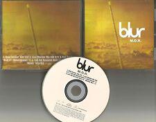 BLUR M.O.R. w/ RARE ROAD Version & MIX & EDITS PROMO Radio DJ CD single 1997 mor