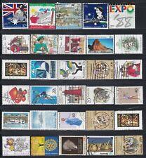 Australia - 100 Different Stamps (K)