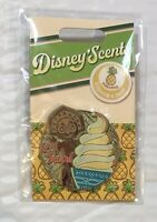NEW Disney Scents Dole Whip Scratch n Sniff Pin Limited LE Pineapple Tiki Room