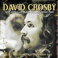 David Crosby - Live at the Matrix, December 1970 (2014)  CD  NEW  SPEEDYPOST