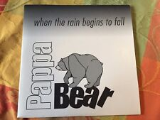 Pappa Bear /// when the rain begins to fall / For promo only