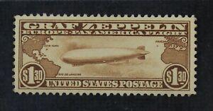 CKStamps: US Air Mail Stamps Collection Scott#C14 $1.30 Mint VLH OG