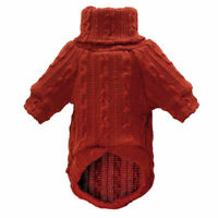 Soft Cozy Knitted Warm Puppy Dog Sweater Jumper Clothes Pets Vest Coat 3 Colors