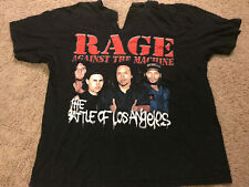 Original Rage Against the Machine Vintage Tour Shirt Adult XL Torn Custom