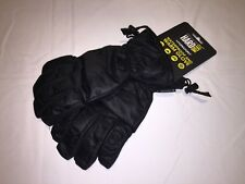 New Men's Regatta Channing Wtaerproof Gloves. Black S/M.Q11