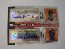 2005 Ernie Banks Alex Rodriguez Topps Finest  Autographs #20K-RB #03/13 Auto