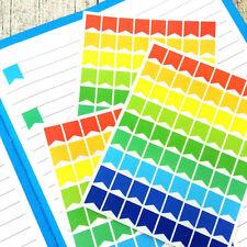 Rainbow planner banner stickers, Erin Condren planner, Planner markers, #1019