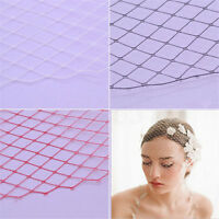 1/2 Yards Birdcage Veil Netting Wedding Hat Fabric Mesh Sewing Millinery Craft