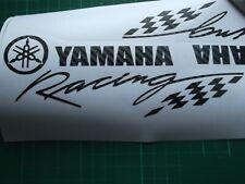 YAMAHA  RACING STICKER  CARBON FIBRE / DECAL X2