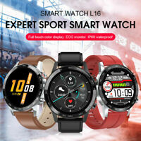 L16 Sport Smart Watch Men ECG+PPG Blood Pressure Heart Rate Sleep Monitoring