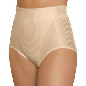 "Glamorise MEDIUM High-Waist ~Fits 27-28"" Brief Tummy Control SHAPER Nude NEW $41"