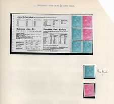 More details for gb 1972 booklet pane mnh