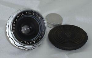 Voigtlander Skoparex f3.4 35mm Lens DKL Mount