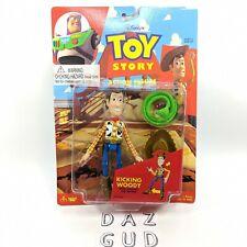 1996 Toy Story Woody Kicking Leg Action Figure VTG Disney ThinkWay New Sealed
