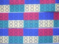 LEGOS-BUILDING BLOCKS RIBBON-5 YARDS-7/8 INCH GROSGRAIN (really cute ribbon)