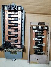 2 Vtg Cutler Hammer No. 8,258 & 8031 Circuit Breaker Base Assembly Panel Board