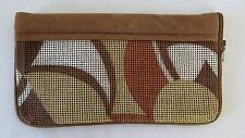 Vintage Brown Velor Snap Purse