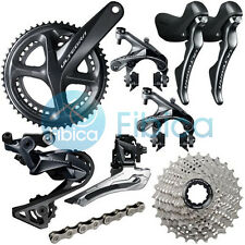 New 2018 Shimano Ultegra R8000 Full Road Groupset Group 50/34t 172.5mm 11-28t