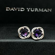 Earrings with Amethyst 7mm Authentic New listing