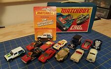 LOT of vintage Matchbox cars and Carry Case