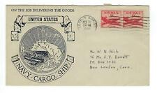 VEGAS - 1948 Navy Cargo Ship Cover - Delivering the Goods - DZ195
