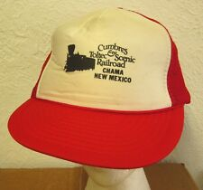 CUMBRES & TOLTEC Scenic Railroad baseball hat Chama vtg cap New Mexico steam