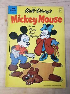 World Distributors No. 51 Walt Disney's Mickey Mouse 1958 - Vintage Comic
