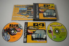 R4 Ridge Racer Type 4 Sony Playstation PS1 Video Game Complete