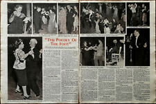 """More details for poetry of the foot """"ye olde tyme dancing"""" vintage article 1948"""