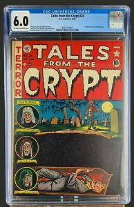Tales From The Crypt #28 CGC 6.0 EC Comics 1952 Golden Age Horror Scifi & Crime!