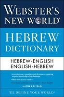 Webster's New World Hebrew Dictionary, Paperback by Baltsan, Hayim, Brand New...
