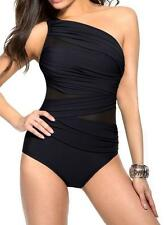MIRACLESUIT WOMEN'S JENA BLACK MIRACLE BATHING SWIM SUIT WEAR SWIMMING COSTUME