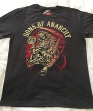 New! Men's Sons Of Anarchy Reaper T-Shirt Size XL