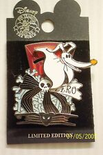NIGHTMARE BEFORE CHRISTMAS ZERO ON PILE OF ONES - JACK'S DOG DISNEY PIN
