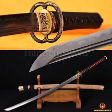DOUBLE BO-HI LIGHTEN CALY TEMPERED BLADE JAPANESE SAMURAI MUSASHI SWORD KATANA