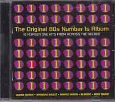 ORIGINAL 80s NUMBER 1s ALBUM - VARIOUS - CD - NEW -