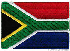 SOUTH AFRICA FLAG embroidered iron-on PATCH new EMBLEM REPUBLIC APPLIQUE new