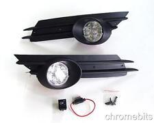 LED FOG DRL DAYTIME RUNNING LIGHTS GRILL SET FOR VAUXHALL OPEL CORSA D 2007-2010