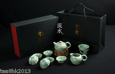 RuYao tea set Chinese kung fu tea set 10pcs tea pot tea filter 6 tea cup