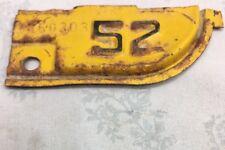 Vintage ~CALIFORNIA 1952~ License Plate Tab~Original