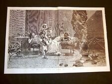La maga Quadro di Boschetto del 1877 Disegno di Montefusco