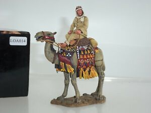 KING AND COUNTRY LOA014 COLONEL TE LAWRENCE OF ARABIA MOUNTED ON CAMEL FIGURE